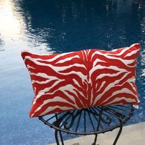 Print Indoor/Outdoor Pillow